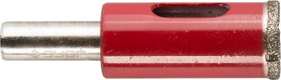 Сверло ЗУБР 29850-16 ЭКСПЕРТ алмазное трубчатое по кафелю керамике зерно 60 16мм ключ свечной зубр 27501 16 эксперт с шарниром 16мм