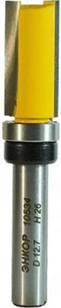 Фреза ЭНКОР 10534 кромочная прямая ф12.7х26мм хв8мм фреза энкор 10529 кромочная прямая ф19х50 8мм хв12мм