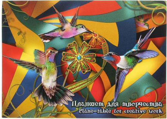 Планшет для пастели ЛИЛИЯ ХОЛДИНГ Калейдоскоп A3 20 листов ПК/3 палаццо планшет для пастели бабочка а3 4 цвета 20 листов