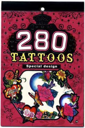 Альбом с наклейками для тела БОДИ-АРТ, 280 наклеек, ассорти 2 дизайна цены онлайн