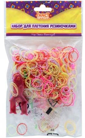 Набор для плетения fancy creative Резиночки-шестеренки 600 шт FD030067 игровой набор shantou chenghai мелок для волос блеск для губ резиночки 6 шт