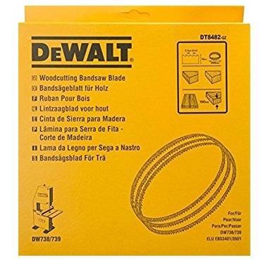 Полотно для ленточной пилы DeWALT DT8472-QZ для DW876 по древесине(<150мм). 2215x10x0.4x4.2