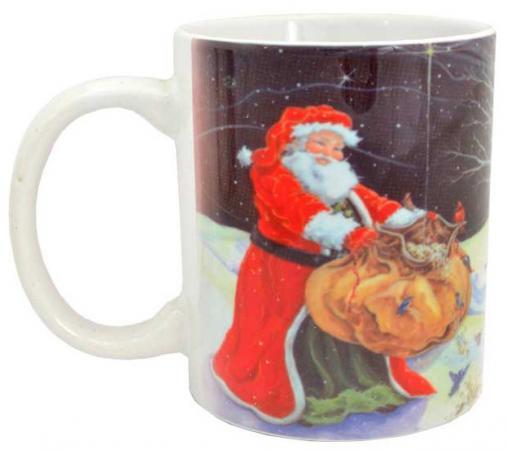 Кружка Winter Wings Дед Мороз с подарками кружка easy life новогодняя коллекция дед мороз с подарками 350 мл