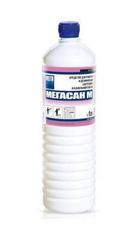 Фото - Средство дезинфицирующее МЕГАСАН М, 1 л средство дезинфицирующее grass deso c10 5 л