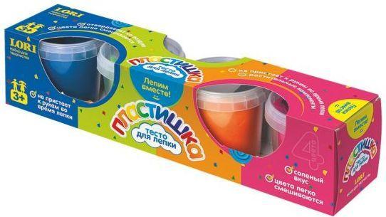 Тесто для лепки. Пластишка. 4цв. набор для детского творчества тесто для лепки тесто из детства 4цв 180гр т00102