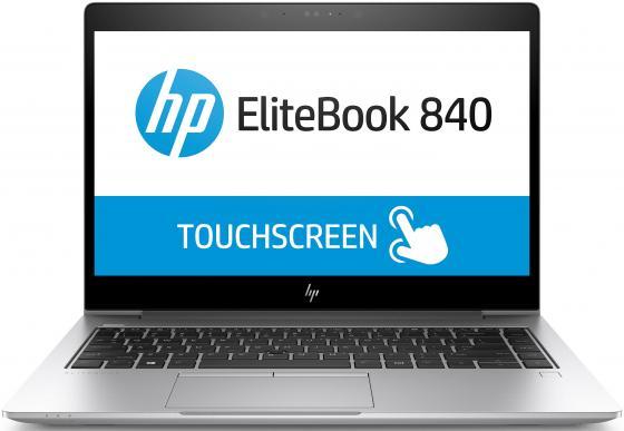 Ноутбук HP EliteBook 840 G5 14 1920x1080 Intel Core i7-8550U 256 Gb 8Gb Intel UHD Graphics 620 серебристый Windows 10 Professional 3ZG64ES ноутбук acer predator triton 700 pt715 51 78su 15 6 1920x1080 intel core i7 7700hq nh q2ker 003