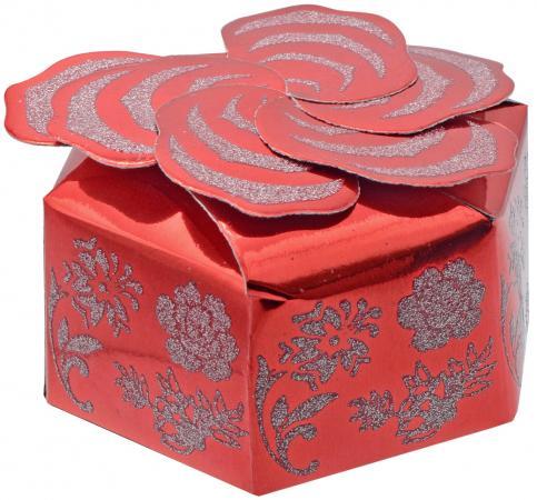 Коробка подарочная Winter Wings PW7826 10.3x10.3x4.8 см