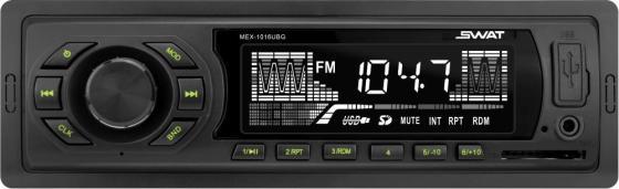 Автомагнитола Swat MEX-1016UBG 1DIN 4x50Вт автомагнитола cd kenwood kdc 130ug 1din 4x50вт