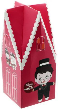 Коробка подарочная складная, 4,4*4,4*10,8 см
