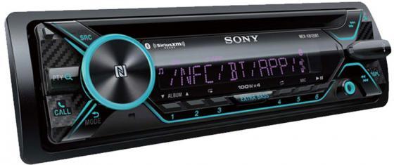 Автомагнитола CD Sony MEX-N5200BT 1DIN 4x55Вт автомагнитола cd pioneer deh x8700bt 1din