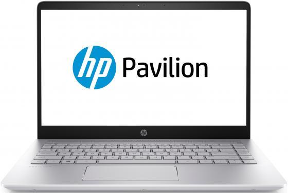 Ноутбук HP Pavilion 14 14-bf036ur 14 1920x1080 Intel Pentium-4415U 128 Gb 4Gb Intel HD Graphics 610 серебристый Windows 10 Home (3LG59EA)