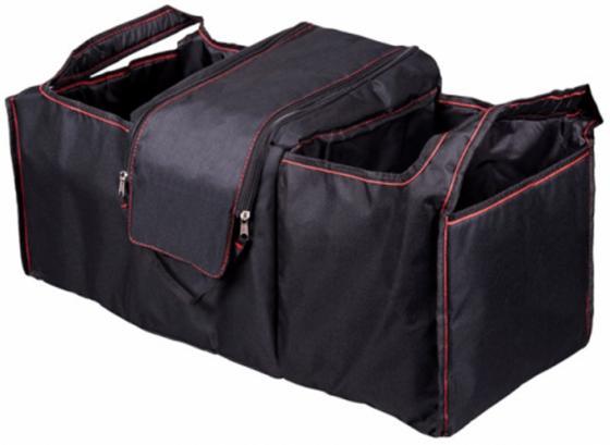 Органайзер в багажник Ritmix RAO-1081 черный/красный 33x70x34см термоотделение (упак.:1шт) органайзер в багажник travel org 35 bk 70х32х30см брезент прозрачный клапан чёрный