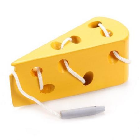 Развивающая игра Сыр игра развивающая для малыша mapacha шнуровка фрукты