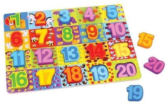Вкладыши Цифры вкладыш mapacha изучаем цифры 76686