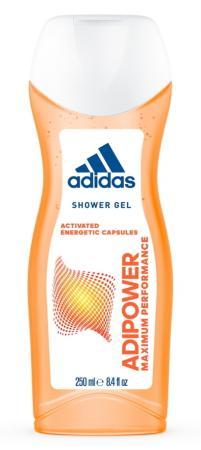Гель для душа ADIDAS Adipower 250 мл кроссовки для тенниса adidas adipower barricade f32332
