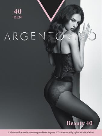 Колготки Argentovivo Beauty 2 40 den черный