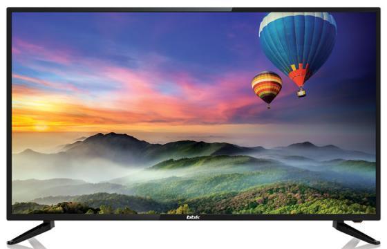 """купить Телевизор LED 43"""" BBK 43LEM-1056/FTS2C черный 1920x1080 50 Гц VGA USB по цене 19010 рублей"""