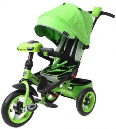 Велосипед трехколёсный Moby Kids Leader 360° 12x10 AIR Car 12*/10* зеленый 641070