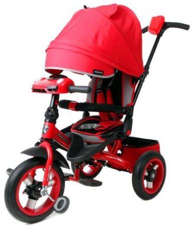 Велосипед трехколёсный Moby Kids Leader 360° 12x10 AIR Car 12*/10* красный 641071