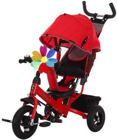Велосипед трехколёсный Moby Kids Comfort 10x8 AIR 10/8 красный 641051