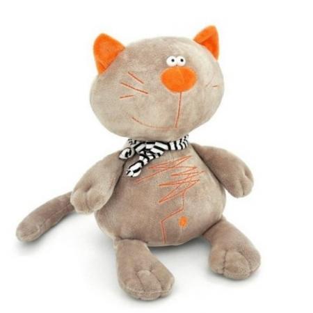 Мягкая игрушка кот ORANGE Кот Батон 40 см серый искусственный мех MC2370/40B albano туфли