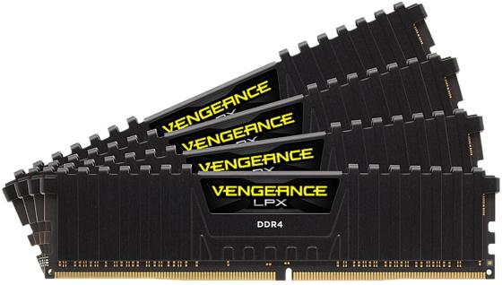 Память DDR4 4x16Gb 3000MHz Corsair CMK64GX4M4D3000C16 RTL PC4-24000 CL16 DIMM 288-pin 1.35В