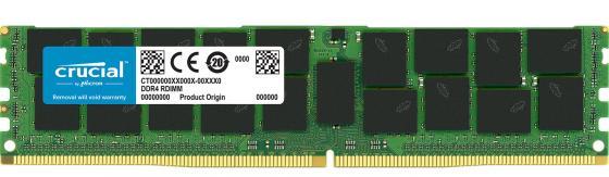 Память DDR4 Crucial CT32G4LFD4266 32Gb DIMM ECC Reg PC4-21300 CL19 2666MHz память ddr4 samsung m393a4k40bb2 4х8gb dimm ecc reg pc4 21300 cl15 2666mhz