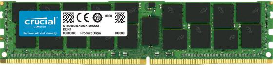 Оперативная память 64Gb (1x64Gb) PC4-21300 2666MHz DDR4 LRDIMM ECC Buffered CL19 Crucial CT64G4LFQ4266