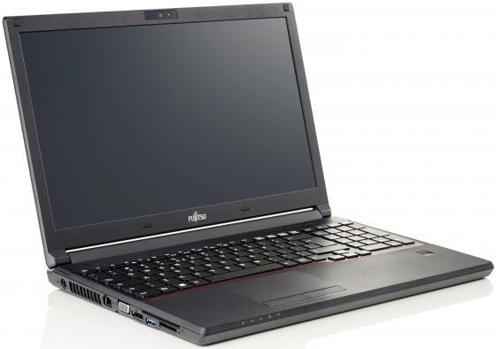 Ноутбук Fujitsu LifeBook E556 Core i5 6200U/8Gb/500Gb/DVD-RW/Intel HD Graphics 520/15.6/FHD (1920x1080)/noOS/black/WiFi/BT/Cam/5800mAh original for fujitsu lifebook ah564 fan laptop cpu cooling fan
