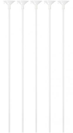 Набор палочек Action! Палочки с держателями для воздушных шаров 5 шт 40 см
