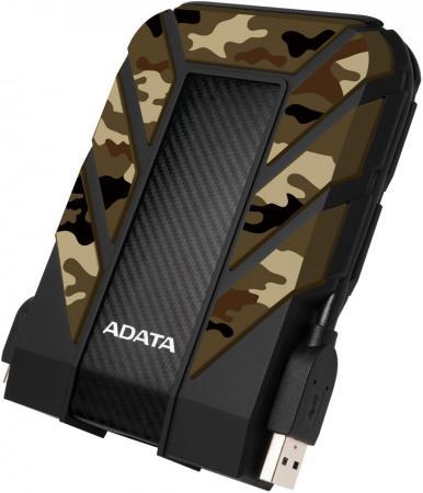 """Жесткий диск A-Data USB 3.1 2Tb AHD710MP-2TU31-CCF HD710M Pro DashDrive Durable 2.5"""" черный/зеленый цена и фото"""