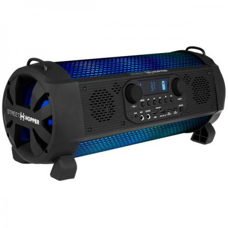 Аудиомагнитола Soundstream Hooper SH-5P черный 30Вт/MP3/FM(dig)/USB/BT/microSD soundstream p2 150