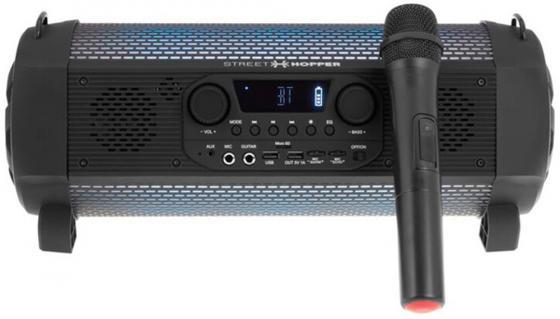 Аудиомагнитола Soundstream Hooper SH-6PM черный 30Вт/MP3/FM(dig)/USB/BT/microSD soundstream trx2 820
