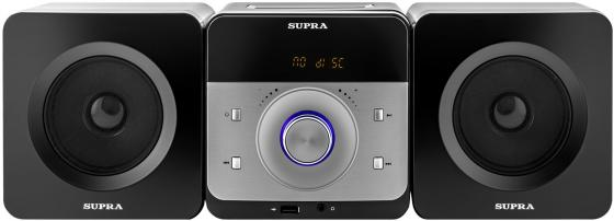 Микросистема Supra SMC-27D черный 50Вт/CD/CDRW/DVD/DVDRW/FM/USB/BT галогенная лампа no 10pcs lot g4 10w jc dc12v