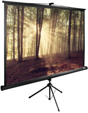 все цены на Экран напольный рулонный Cactus CS-PSTE-180Х135-BK 135 x 180 см онлайн