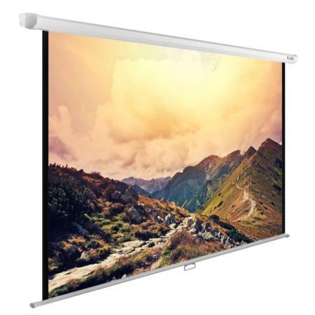 Экран Cactus 180x120см WallExpert CS-PSWE-240x180-WT 4:3 настенно-потолочный рулонный светильник потолочный 9819cr 4 wt