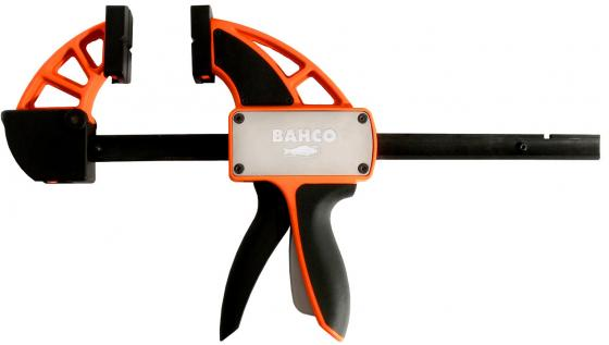 цена на Струбцина BAHCO QCB-600 быстрозажимная max. мощность 200кг одним нажатием зев при зажиме 600мм