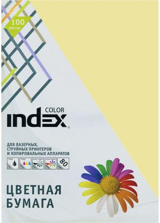 Цветная бумага Index Color IC54/100 A4 100 листов бумага kris creative color a4 80g m2 100 листов pastel multicolor 110499