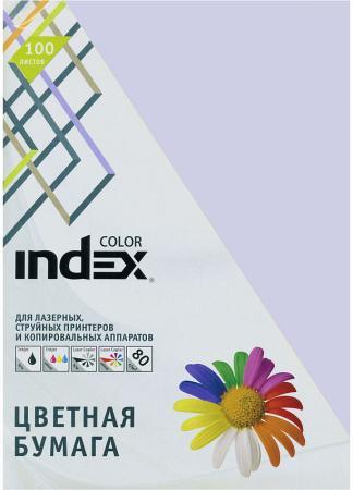 Цветная бумага Index Color IC85/100 A4 100 листов росмэн цветная бумага 10л 10цв мстители