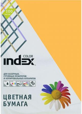 Цветная бумага Index Color IC48/100 A4 100 листов переплетчик gbc combbind 100 a4 перфорирует 9 листов сшивает 160 листов пластиковые пружины 6 19мм 4