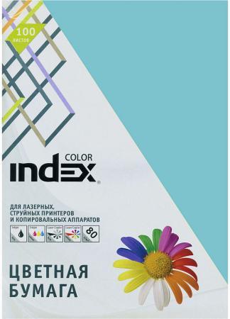 Цветная бумага Index Color IC75/100 A4 100 листов фото