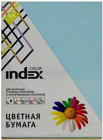 Цветная бумага Index Color ICmixpastel/5x25/160 A4 125 листов ICmixpastel/5x25/160 бумага maestro color pale a4 80g m2 100л blue mb30 102474