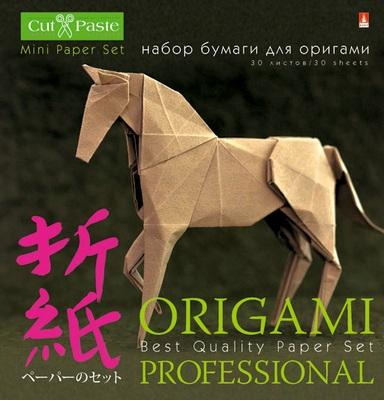 цена на Бумага для оригами Альт Набор для ОРИГАМИ 10x10 см 30 листов 11-30-181