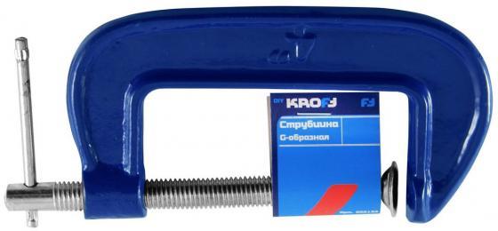 Струбцина KROFT 202132 тип G 75мм рулетка kroft 202094
