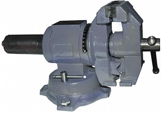 Тиски ЭНКОР 20088 слесарные цилиндр повор 100мм наков тиски слесарные настольные серия мини 35мм proconnect