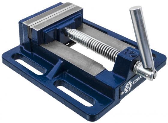 Тиски КОБАЛЬТ 246-036 станочные ширина губок 75мм захват 78мм 2кг коробка тиски станочные fit 59607
