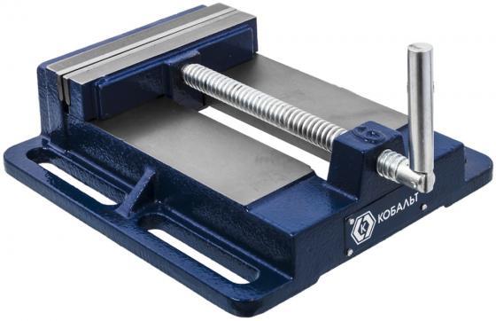 Тиски КОБАЛЬТ 246-067 станочные ширина губок 150мм захват 78мм 9.5кг коробка станочные тиски bosch ms 80 g 2608030056