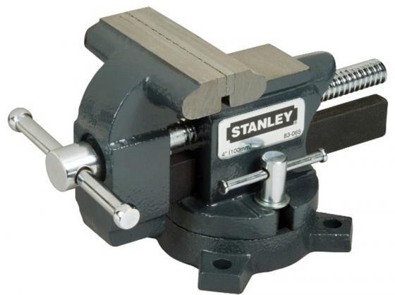 Тиски STANLEY MaxSteel 1-83-065 для небольшой нагрузки глуб. 89мм раскр. 100мм струбцина stanley maxsteel 100 мм 0 83 034