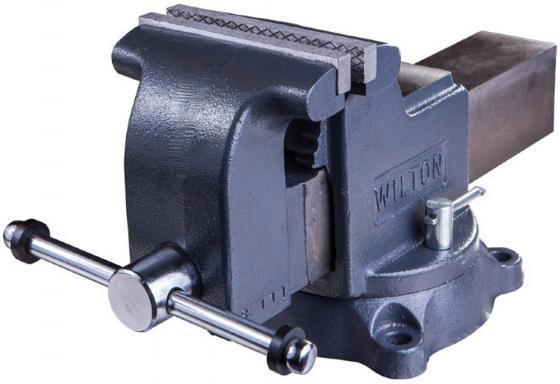 Тиски WILTON WI63304 Мастерская 200мм верстачные тиски wilton mmv sp 50 фрезерные прецизионные 50х50мм