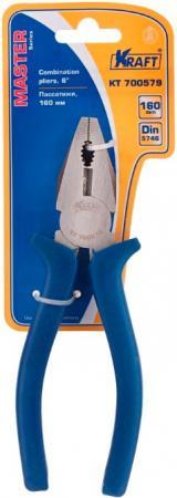 Пассатижи KRAFT КТ 700579 комбинированные 160мм master пассатижи kraft кт 700573 комбинированные 200мм